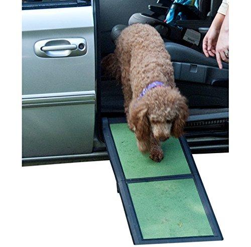 Pet Gear, rampa Pieghevole per Cani Ultra Leggera, Dimensioni: 42 x 16 x 4 cm
