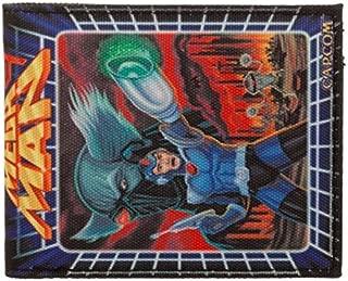 Nintendo Nes Mega Man 9 Bifold Canvas Wallet