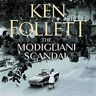 The Modigliani Scandal                   By:                                                                                                                                 Ken Follett                               Narrated by:                                                                                                                                 Justin Avoth                      Length: 6 hrs and 43 mins     21 ratings     Overall 3.8
