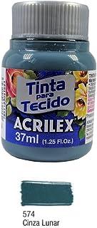 Acrilex Pintura Textil al Agua Gris Lunar 37 ml Ref. 574