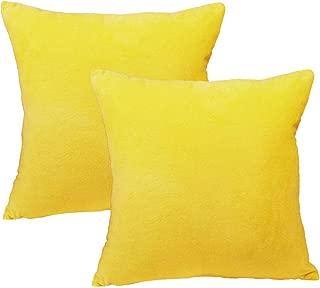 Best yellow toss pillows Reviews