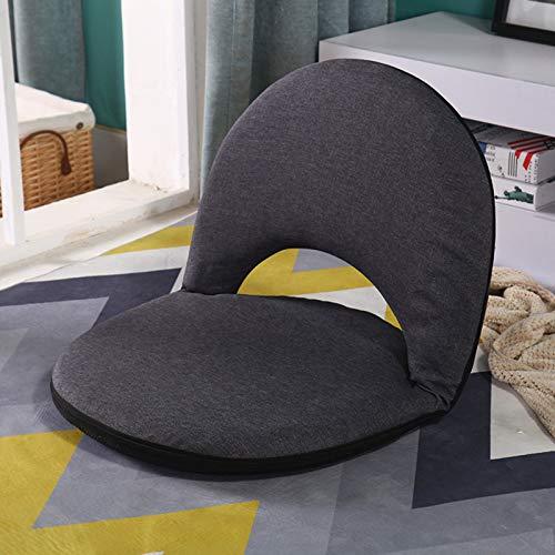 Sofa Klappstuhl, verstellbare Rückenlehne, Stützstuhl mit Rückenlehne, verstellbar für 5 Positionen, Einzelklappstuhl, Lazy Sofa, Klappsofa für Kinder, Klappstuhl zum Stillen,E