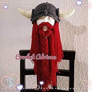 Gorro Vikingo Crochet