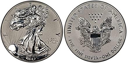 2012 75th anniversary silver eagle set