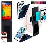 Hülle für Samsung Galaxy Note 3 Neo LTE Plus Tasche Cover Hülle Bumper | Blau | Testsieger