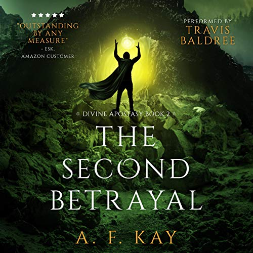 The Second Betrayal audiobook cover art