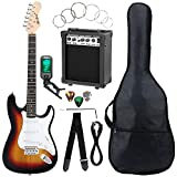 McGrey Rockit guitare électrique ST set complet sunburst