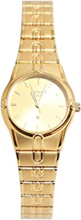 Casual Watch for Women by Accurate, Gold, Round, ALQ1806