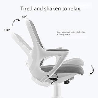Silla de Oficina giratoria de Cuero de Escritorio ergonómica Silla reclinable Ordenador, Altura Ajustable, 360 ° Rotación Silla de Rodillas
