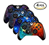 xbox controller stickers - UUShop Vinyl Skin Sticker Decal Cover for Microsoft Xbox One Controller - Galaxy Starry - 4 differences style(NOT for One S or X)