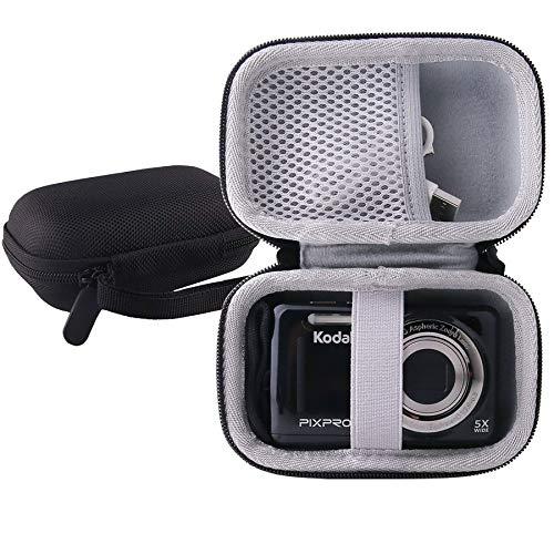 WERJIA Hard EVA Travel Case for Kodak PIXPRO Friendly Zoom FZ53/ FZ43 Digital Camera (Black)