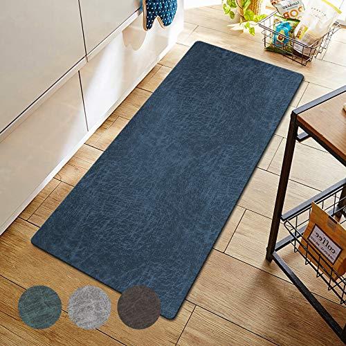 キッチンマット120 拭ける キッチンまっと 防水・防油・はっ水 台所マット 洗濯いらず・お手入れ簡単 キッチンマット 滑り止め おくだけ吸着 床暖対応