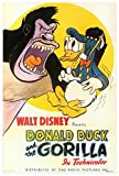 Donald Duck and The Gorilla Movie Poster (68,58 x 101,60