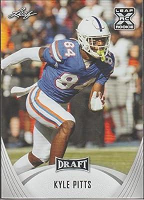 2021 Leaf Draft #24 Kyle Pitts Florida Gators XRC (RC - Rookie Card) NFL Football Card NM-MT