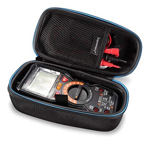 Supremery Cubierta para Tacklife DM01M DM07 Advanced Digital Multímetro Caja Funda de protección Estuche Bolsa de Transporte