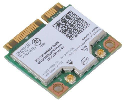 Intel 3160 dual-Band Wireless AC + Bluetooth-Mini-PCIe-Karte unterstützt 2,4 und 5,8 Ghz B/G/N/AC Bands