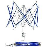 Tebery Umbrella Yarn Swift Hand Operated Ball Winder Holder Machine Metal Hank Yarn Knitting Tool