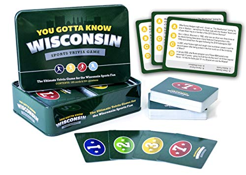 You Gotta Know Wisconsin - Sports Trivia Game