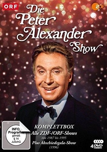 Die Peter Alexander Show - Komplettbox [4 DVDs]