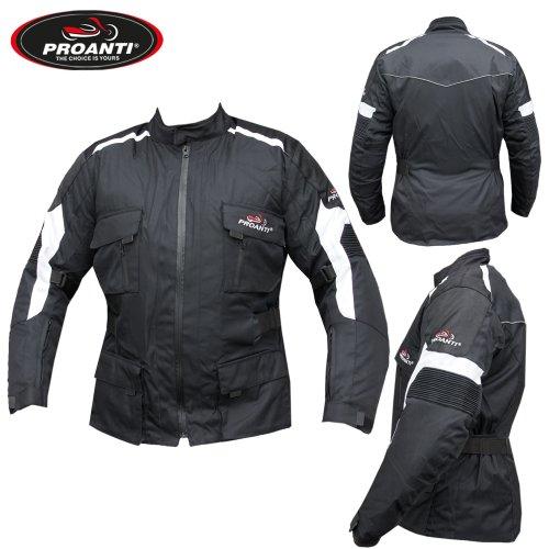 Motorradjacke Biker Jacke Touring Motorrad Textil Jacke von PROANTI®