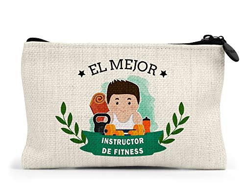 Monedero El Mejor Instructor De Fitness del Mundo Regalo Original Fitness Personalizado