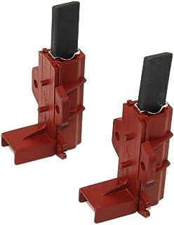 Lot de 2 broches carbone de type 3, C00196539 Indesit pour moteur, 31 x 12 x 5mm