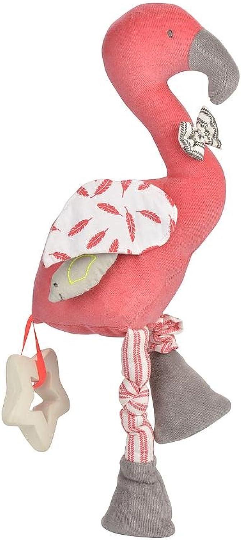 KIKADU Activity Baby Spielzeug Flamingo in Rosa B07CDQXM99  Bekannt für seine gute Qualität | Schöne Kunst