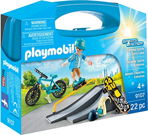 PLAYMOBIL-Maletín Deportes Extremos (9107)