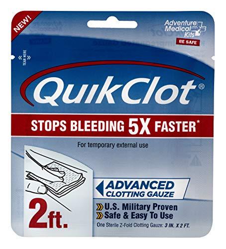 AMK QuikClot Gauze 3 inch x 2 Foot