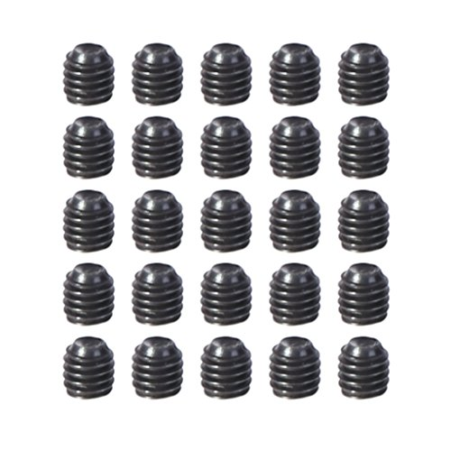 JAGETRADE 20Pcs M3x 3mm Grub Head Socket Screw for RC Car 1/10 HSP 18039 02098 94180 Parts