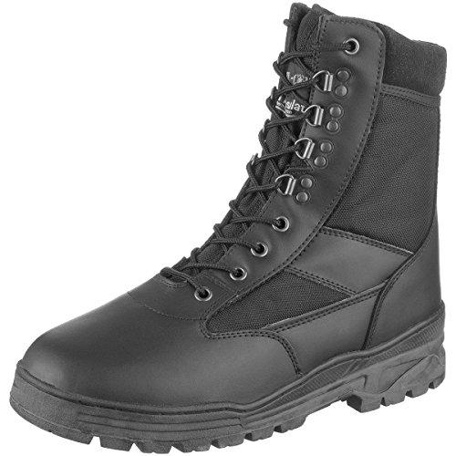 Mil-Com Patrol Botas Negro Tamaño 6