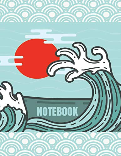 Notebook: fuji in a dream cover (8.5 x 11)  inches 110 pages, Blank Unlined Paper for Sketching, Drawing , Whiting , Journaling & Doodling (fuji in a dream notebook,, Band 33)