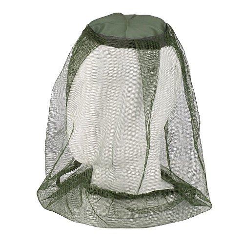 VANKER Moustiquaire pour la tête, filtre de protection contre les mouches, doux, durable et à usage intensif, pour les amateurs d'extérieur, 100 % garantie de satisfaction