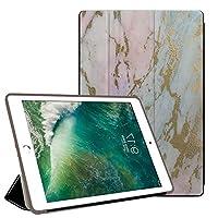 PRINDIY iPad 10.2 2019/iPad 保護ケース,傷防止 アンチドロップ 三つ折タイプ 保護ショックプルーフ PC + PU 3つ折り スタンド機能付き プロテクターケース iPad 10.2 2019/iPad Case-G 78