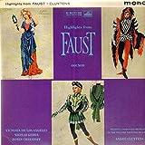 Charles Gounod , Orchestre National De L'Opra De Paris , Andr Cluytens , Ren Duclos , Jules Barbier , Michel Carr - Highlights From Faust - His Master's Voice - ALP 1837, His Master's Voice - ALP.1837