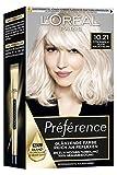 L'Oréal Paris Préférence 10.21 Platin Perlmuttblond (Stockholm) 3er Pack(3 x 183 g)