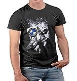 Lulchev Design - Joker Card Tshirt für Männer Power M Tuning M3 M5 M6 X6 X5 M E30 E46 E90 F10 T Shirt Gift Motorsport Herren Tshirt Herren Tshirt Prime Quality Kurzarm (Schwarz, XL)