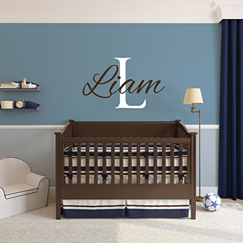 Name Wall Decals - Boys Room - Baby Wall Decals - Personalized Name Decal - Wall Decal Nursery - Baby Name Decal - Boys Wall Decals - Girls Wall Decals by DecorimDecorWallDecal