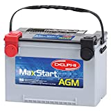2004 Workhorse FasTrack FT1261 Batteries - Delphi BU9078 MaxStart AGM Premium Automotive Battery, Group Size 78