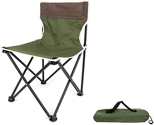 Klappstuhl Hocker Licht Tragbare Outdoor Strand Camping Skizze Angeln 2 Farbe 36  36  60 cm MUMUJIN (Farbe   Grün)