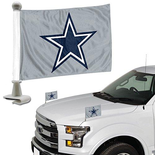 FANMATS ProMark NFL Dallas Cowboys Flag Set 2-Piece Ambassador Style, Team Color, One Size