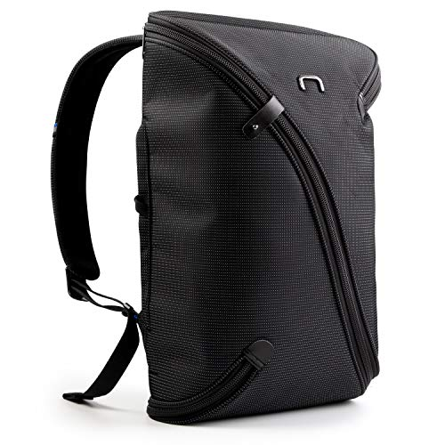 4smarts UNO opvouwbare rugzak voor apparaten tot 15,4 inch zwart