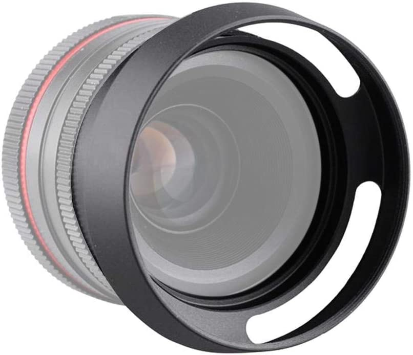 Vipxyc Camera Lens Hood Metal Fine Workmanship Max 76% OFF Fit for shop 43 39mm