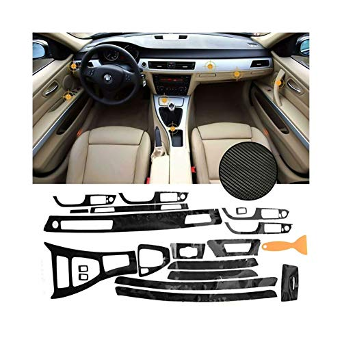 RJJX Car Kit Completo/Set 5D Interior del Coche de Fibra de Carbono...