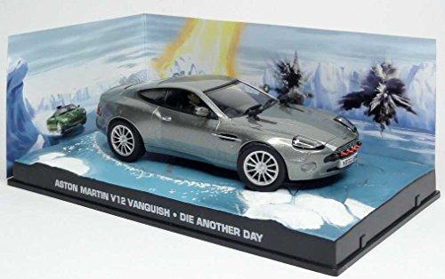 Modelcar DieCast 1/43 Diorama Aston Martin V12 Vanquish James Bond 007 Die Another Day