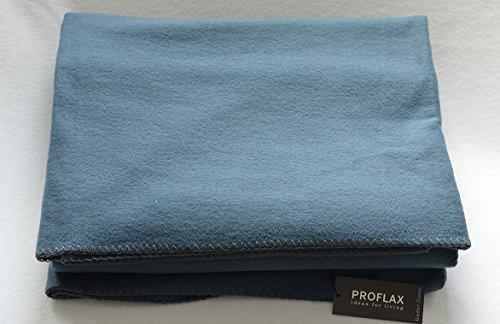 Proflax Plaid SECRET Kuscheldecke, Wohndecke aus Soft-Fleece, space (14), 160 x 200 cm