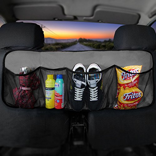 FH Group FH1122GRAY Car Trunk Organizer (Multi-Pocket Storage Collapsible for...