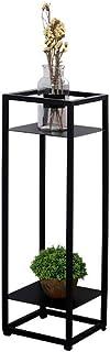 XAJGW Soporte de Planta Vertical de Metal para Interiores Estante de Soporte para macetas de Hierro | Decoración al Aire Libre | Maceta de Acero en Maceta exhibición de contenedores de jardín