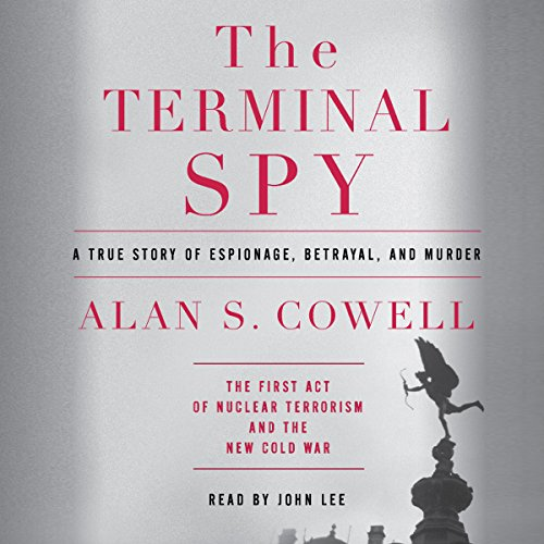 The Terminal Spy audiobook cover art