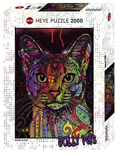Heye 29810Abyssinian estándar 2000Piezas, Dean Russo, Juego